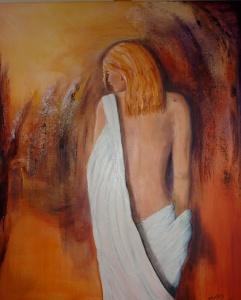 Courtisane-oil-on-canvas